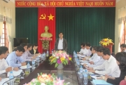 Quang Tri province to inspect the implementation of investment projects in building factory premium glass packaging