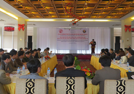 Workshop shared analysis of border trade of agricultural products in Quang Tri province